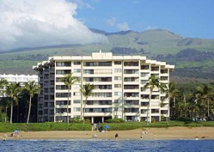 Polo Beach Maui #408 View of the front of the building